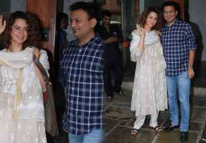 Kangana Ranaut looks Classy in in her Traditional Salwar Kameez  FilmiBeat