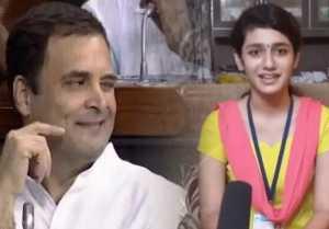 Priya Prakash Varrier's Shocking Reply on Rahul Gandhi's Wink  FilmiBeat