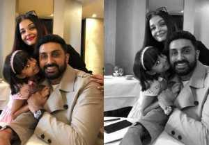Aaradhya Bachchan, Aishwarya Rai Bachchan get Surprise from Abhishek Bachchan in Paris
