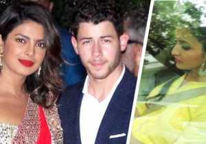 Priyanka Chopra & Nick Jonas Engagement: Parineeti Chopra arrives at Priyanka's house