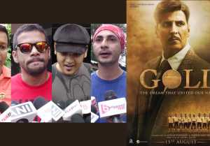 Gold PUBLIC REVIEW: Akshay Kumar | Mouni Roy | Amit Sadh
