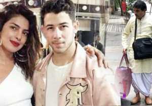 Priyanka Chopra & Nick Jonas Engagement: Pandit Ji reaches for Roka Ceremony; Check out । FilmiBeat
