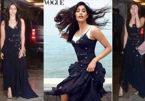 Priyanka Chopra & Nick Jonas Engagement: Alia Bhatt copies Jhanvi Kapoor's dress for party FilmiBeat