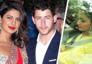 Priyanka Chopra & Nick Jonas Engagement: Parineeti Chopra arrives at Priyanka's house