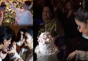Shahrukh Khan, Rekha & others attend Manisha Koirala's Birthday Party; Watch Video । FilmiBeat