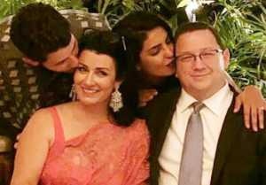 Priyanka Chopra & Nick Jonas's PERFECT Family pose with parents: Inside Picture  FilmiBeat