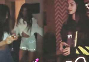 Suhana Khan & Ananya Pandey's video of late night party goes viral  FilmiBeat