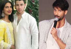 Priyanka Chopra & Nick Jonas: Shahid Kapoor REACTS on Priyanka 's Engagement। FilmiBeat
