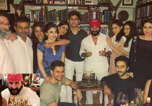 Kareena Kapoor Celebrates Saif Ali Khan's Birthday with Taimur, Sara & others: Watch Video