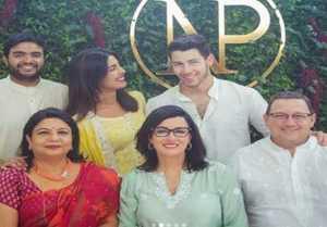 Priyanka Chopra & Nick Jonas: First FAMILY photo from her Engagement Ceremony  FilmiBeat