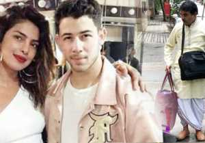 Priyanka Chopra & Nick Jonas Engagement: Pandit Ji reaches for Roka Ceremony; Check out । FilmiBeat