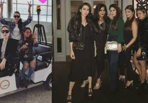 Kareena Kapoor, Karishma Kapoor & Amrita Arora having fun in Dubai; Watch Here  FilmiBeat