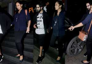 Shahid Kapoor & Mira Rajput spotted at movie Date; Watch Video  FilmiBeat