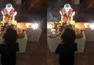 Shahrukh Khan's shares Abram's Ganesh Chaturthi picture