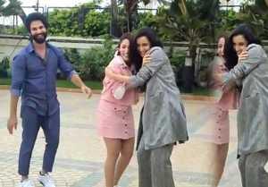 Shahid Kapoor makes fun of Shraddha Kapoor & Yami during Batti Gul Meter Chalu promotion