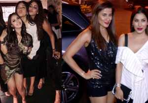 Alia Bhatt, Neha Dhupia, Kartik Aaryan & others attend Akansha Ranjan's birthday bash