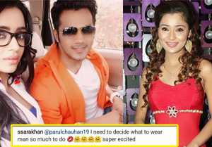 Sara Khan Shocking REACTION on Parul Chauhan's wedding