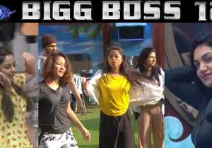 Bigg Boss 12: Jasleen, Dipika, Roshmi, Srishty & others DANCE on Tip Tip Barsa