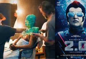 Rajinikanth's TRANSFORMATION into Chitti in 2.0, making video goes viral
