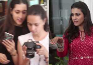 Kajol gets angry on media during Helicopter Eela promotion; Watch Video