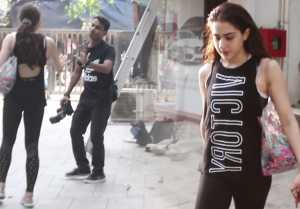 Sara Ali Khan gets ANGRY on Media; Watch video