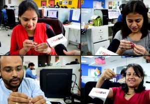 Anushka Sharma & Varun Dhawan Sui Dhaaga Challenge: सुई में धागा डालने पर छूटे पसीने  FilmiBeat