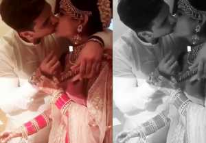 Prince Narula and Yuvika Chaudhary's First KISS after wedding; MUST WATCH video