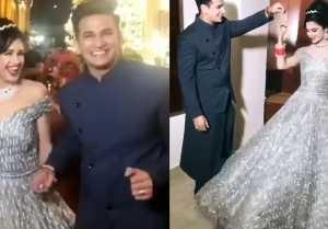 Prince Narula & Yuvika Chaudhary Reception: Privika ROMANTIC Dance goes VIRAL