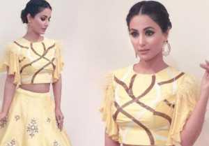 Hina Khan's Disney Princess look goes Viral; Check Out
