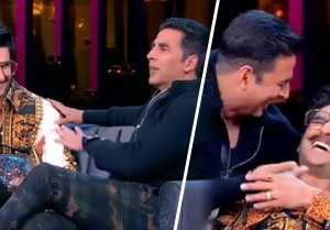 Deepika Padukone & Ranveer Singh: Akshay Kumar makes FUN of him in Koffee With Karan 6