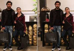 Ranbir Kapoor & Alia Bhatt shopping for their Wedding in New York?