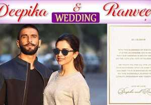 Deepika Padukone & Ranveer Singh Wedding date has SPECIAL connection to their love story