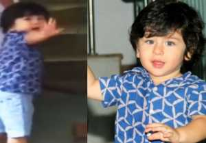 Taimur Ali Khan gets ANGRY on Media; Watch video to know WHY