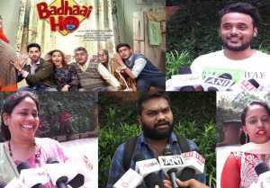 Badhaai Ho PUBLIC REVIEW: Public impressed with Ayushmann Khurrana & Sanya Malhotra's Film