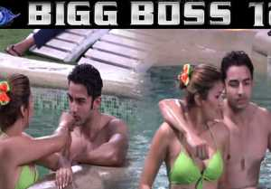 Bigg Boss 12: Jasleen Matharu romances with Rohit Suchanti in pool; Check Out