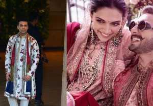 Karan Johar wants to get MARRIED after watching Deepika  Ranveer's wedding Pictures