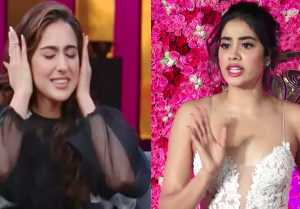 Jhanvi Kapoor upsets with her comparison with Sara Ali Khan; Watch Video