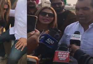 Rakhi Sawant requests The Great Khali to TRAIN her in Wrestling; Watch Video