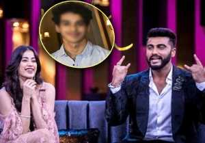 Arjun Kapoor reveals Jhanvi Kapoor's boyfriend name at Koffee With Karan Season 6