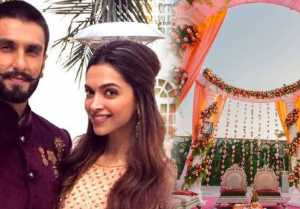 Deepika & Ranveer Wedding: Florists decorate the Venue with Deepika's Favourite Flowers