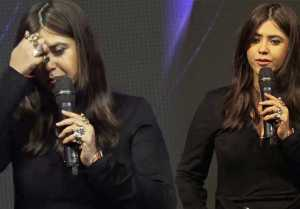 Ekta Kapoor gets Emotional while talking about broken heart; Watch video