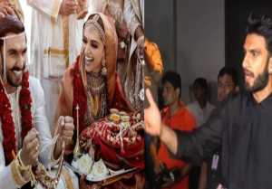 Deepika Padukone - Ranveer Singh Wedding: Ranveer Singh's clothes torn out during the wedding