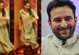 Sara Ali Khan Dances on Saif Ali Khan's Ole Ole song during Kedarnath Promotions; Watch