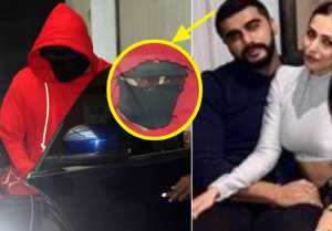 Arjun Kapoor hides his face from media because of Malaika Arora; Here's Why
