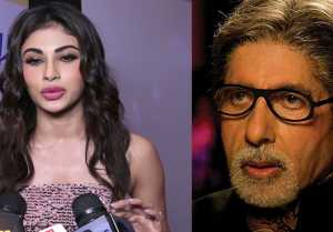Mouni Roy compares herself with PUPPY because of Amitabh Bachchan; Watch Video