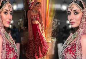Kareena Kapoor looks stunning in beautiful bridal lehenga