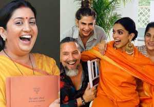 Deepika  Ranveer Wedding: Smriti Irani reacts on DeepVeer Wedding; Here's Why