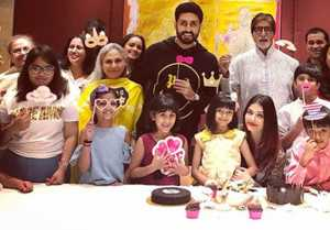 Aishwarya Rai Bachchan & Abhishek Bachchan celebrate Aaradhya Bachchan's 7th birthday
