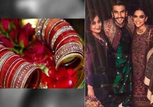 Deepika Padukone & Ranveer Singh stun in FIRST photo from the chooda ceremony