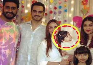 Aaradhya B'Day: Esha Deol's daughter caught staring at Aishwarya Rai; CUTE MOMENT captured